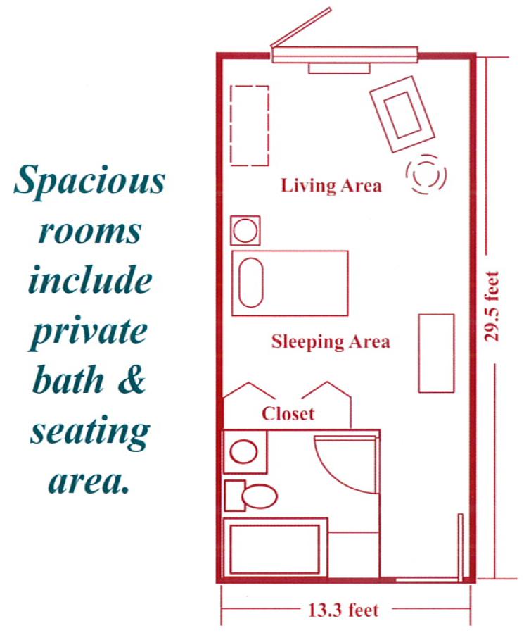 Spacious Floorplan
